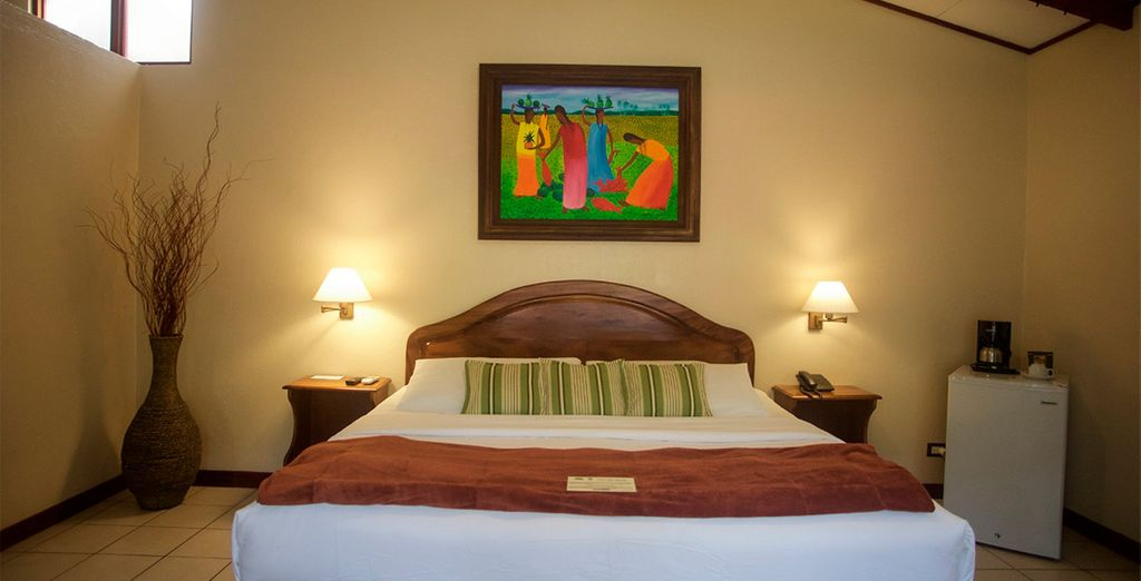 Tu habitación Estándar en Playa Espadilla 3*