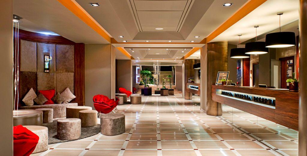 Elegancia y refinamiento en todos los rincones del hotel