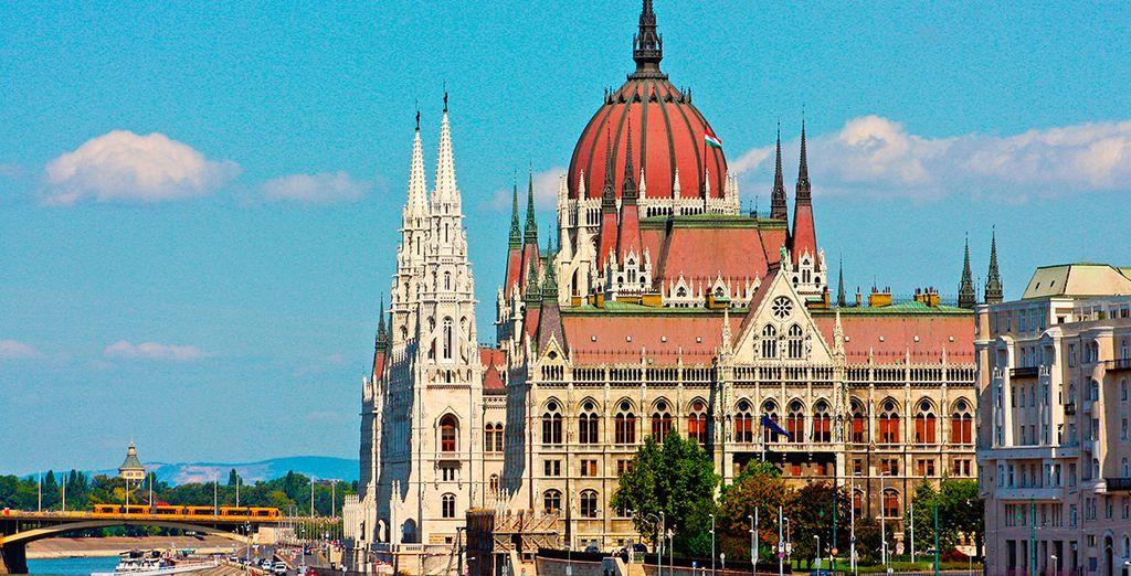 No olvides acercarte al parlamento de Hungría