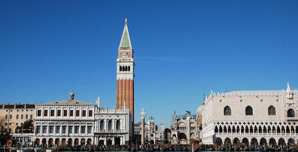 San Marcos, el Palazzo Grassi, los almacenes ... Visitar Venecia es una experiencia única
