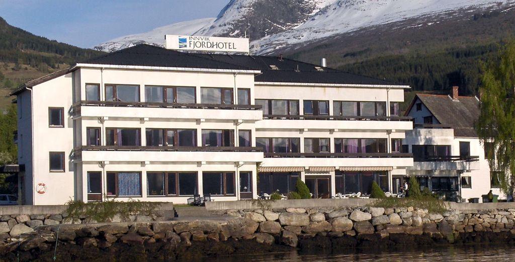 Hotel Innvik Fjordhotel 3*, otra de tus opciones en Loen