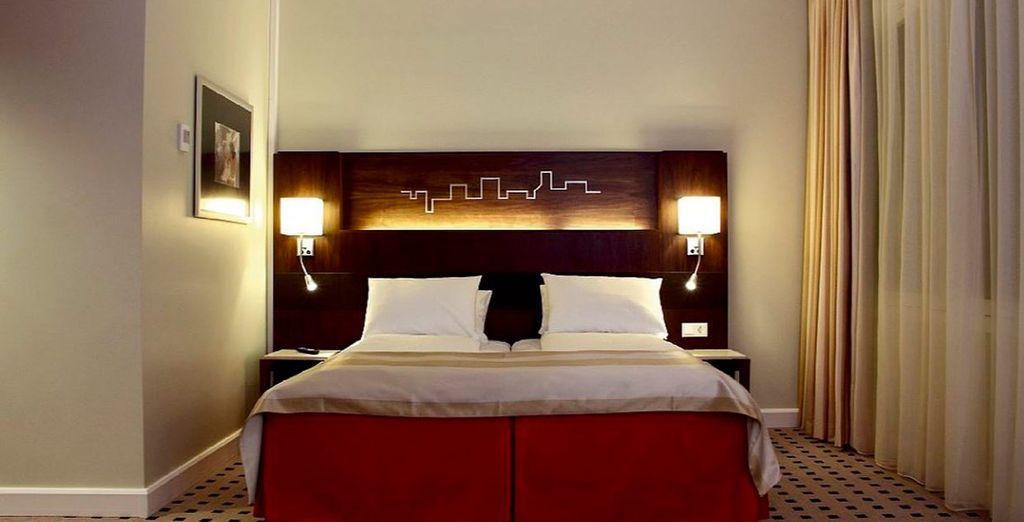 Descansarás en una fantástica habitación