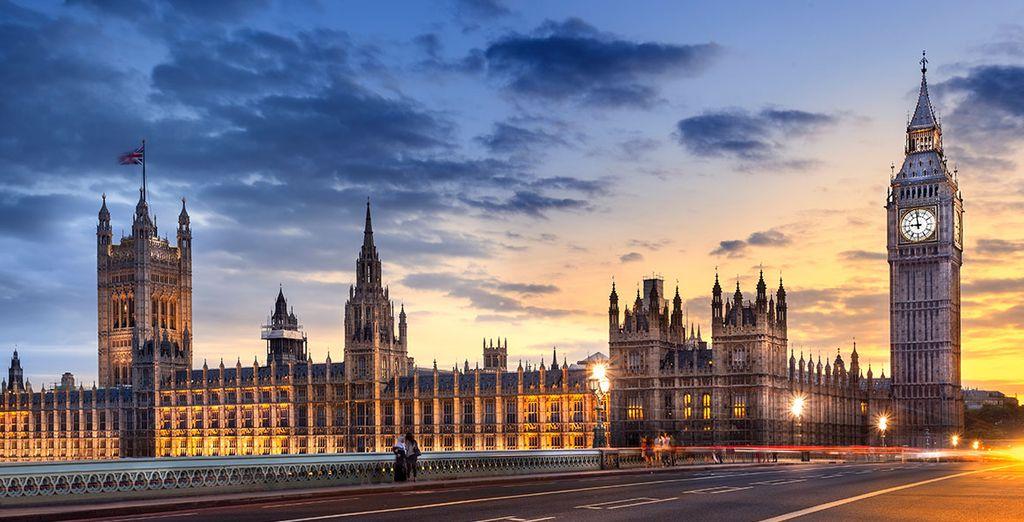 Visita la mítica y famosa Westminster