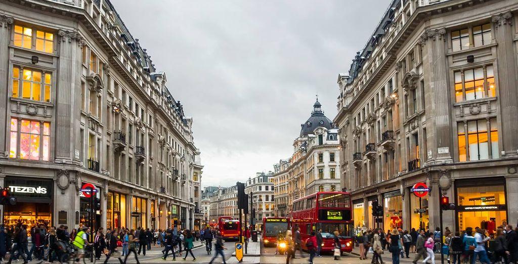 Ven a visitar la capital del Reino Unido