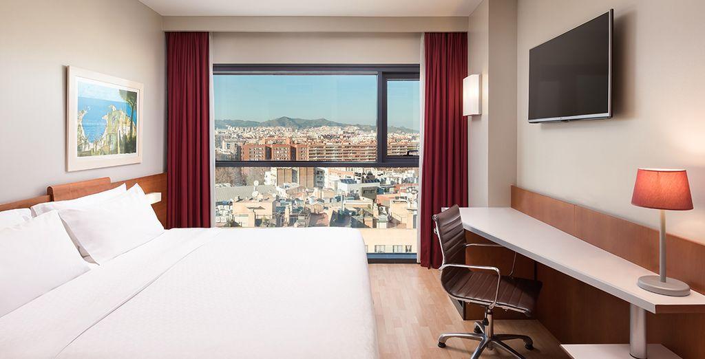 Descansarás en una fantástica habitación Preferred (superior)