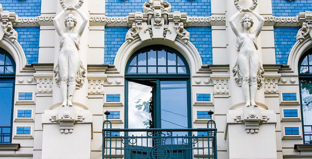 Descubre edificios de estilo arquitectónico Jugendstil, conocido como Modernismo
