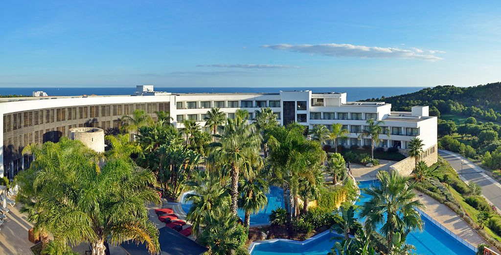 Bienvenido a este hotel 5*