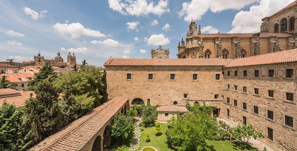 Descubre Salamanca en el Hospes Palacio de San Esteban 5*