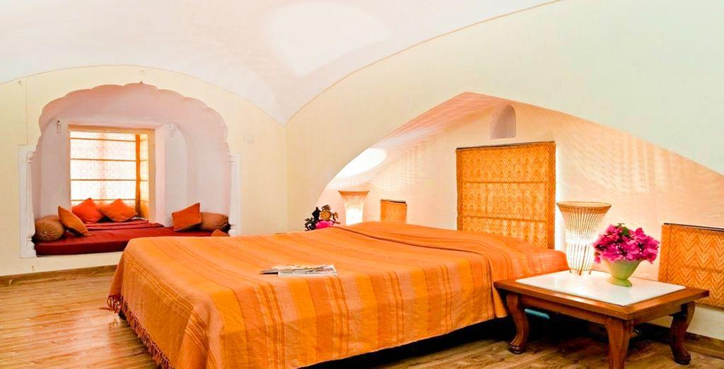 Un hotel ideal y lleno de encanto