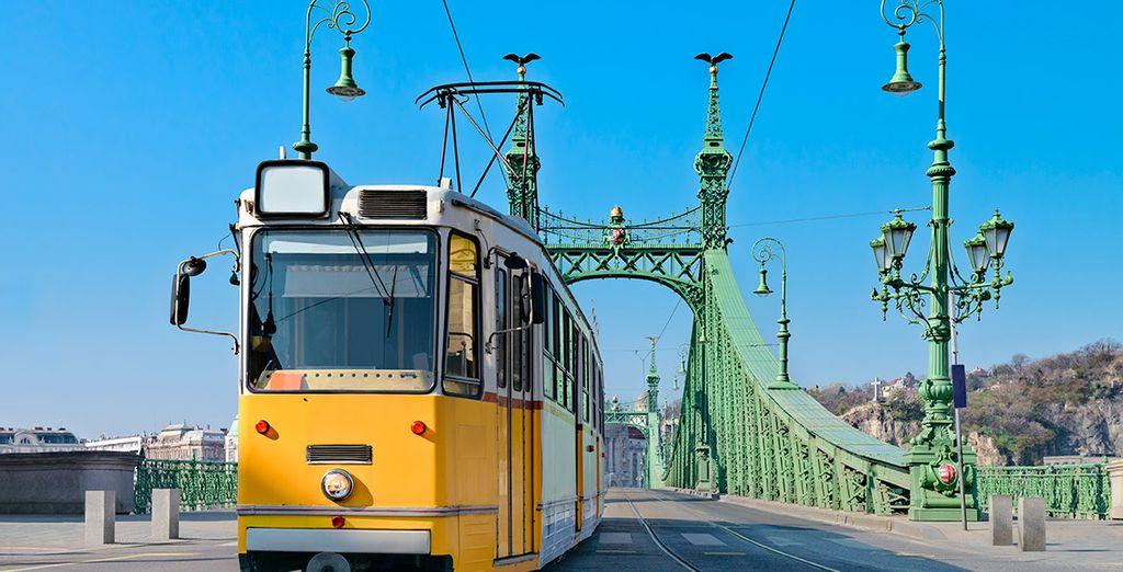 Admira la belleza de la capital húngara
