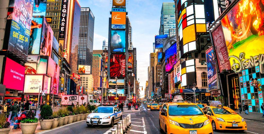 Un hotel muy cerca de la vibrante Times Square