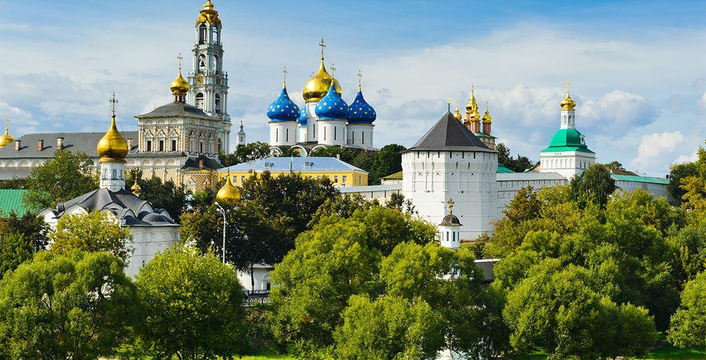 Sérguiev Posad, un importante conjunto monumental