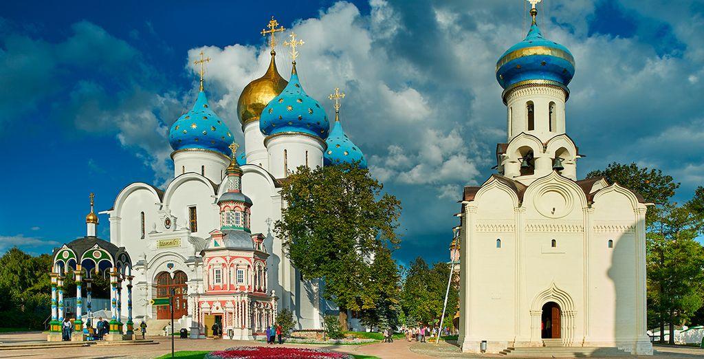 El Monasterio de la Santísima Trinidad, en Sérguiev Posad