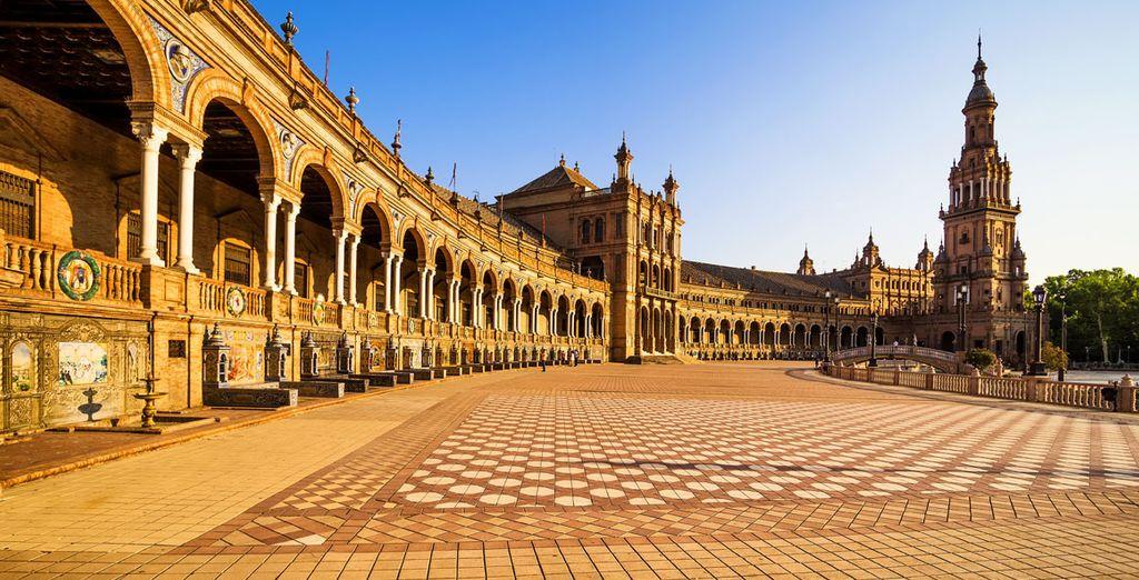 Explora cada rincón de Sevilla