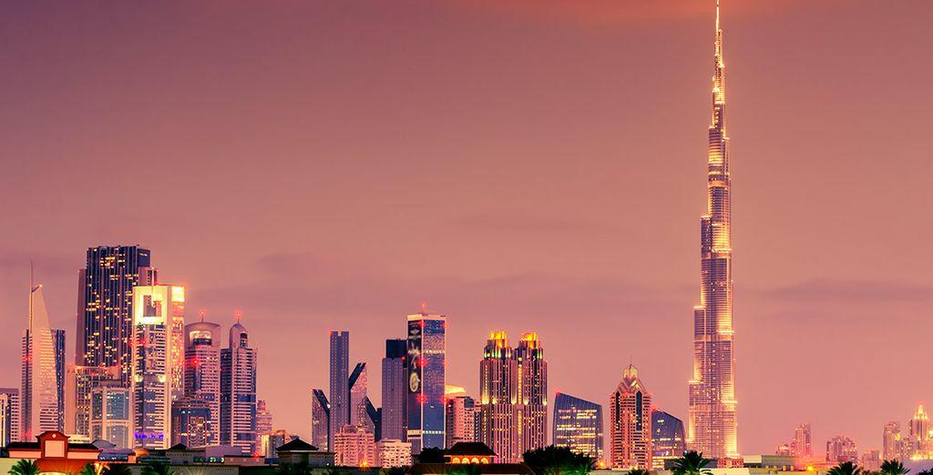 Viajes con hoteles todo incluido a Dubái