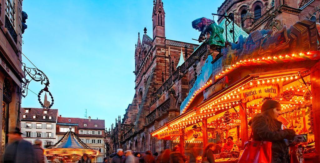 Una Navidad de cuento en Estrasburgo