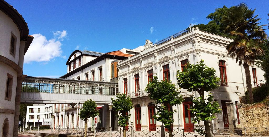 Gran Hotel Asturias Las Caldas Wellness Clinic 5*