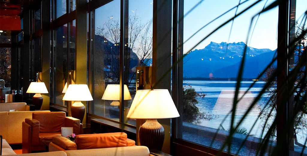 Hotel de lujo Royal Plaza Montreux & Spa 5*