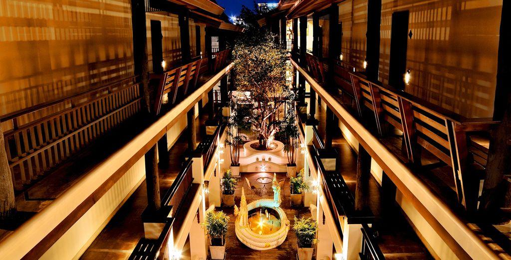 Un hotel elegante y moderno a la vez