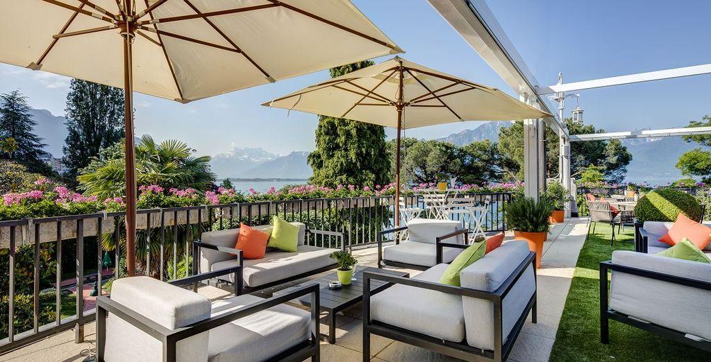 Hotel de lujo Fairmont le Montreux Palace 5*