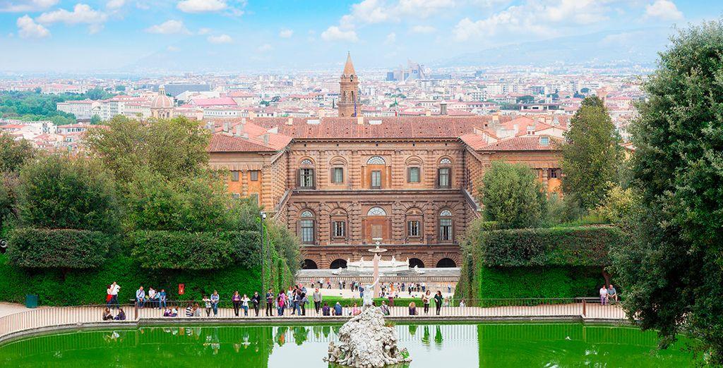 Aprovecha para visitar palazzo Pitti