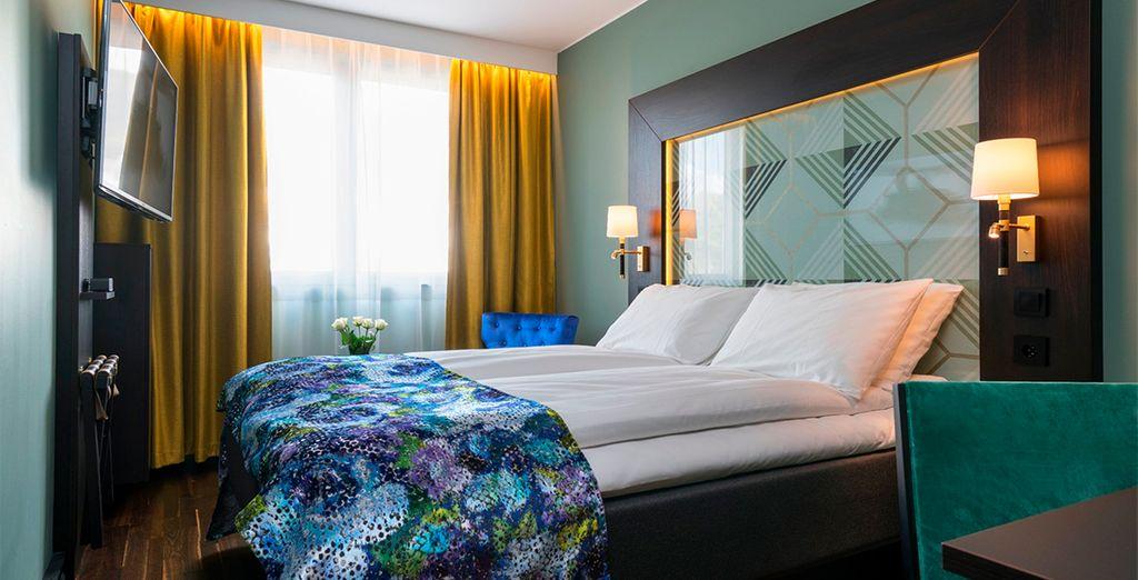Habitaciones decoradas con gusto en Thon Hotel Orion 4*