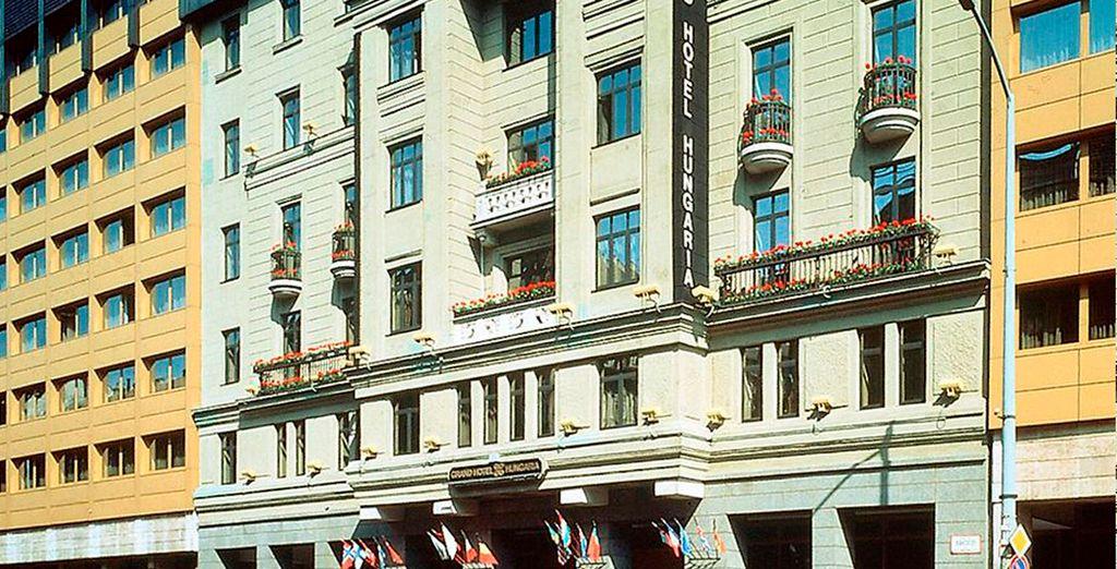 Hotel Hungria, Budapest