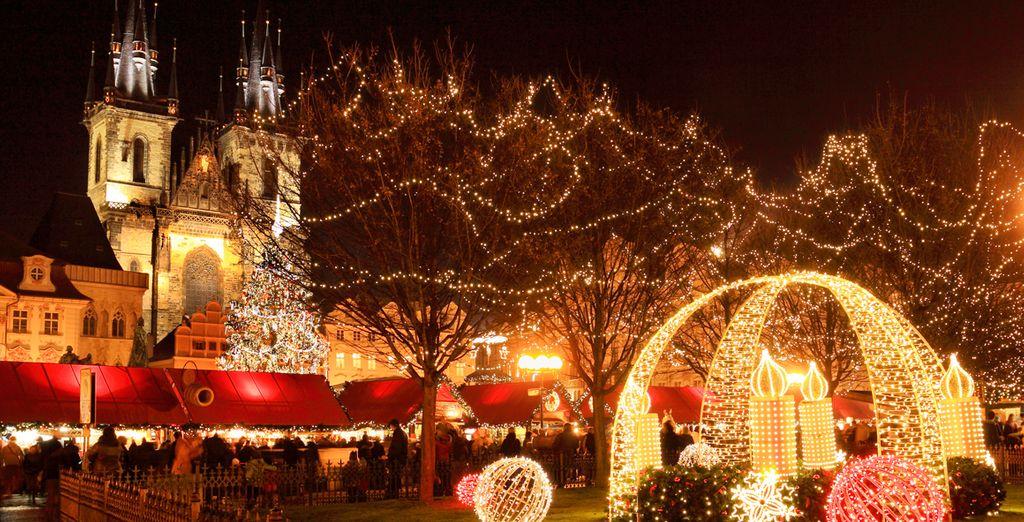 La mágica ciudad por Navidad le encantará