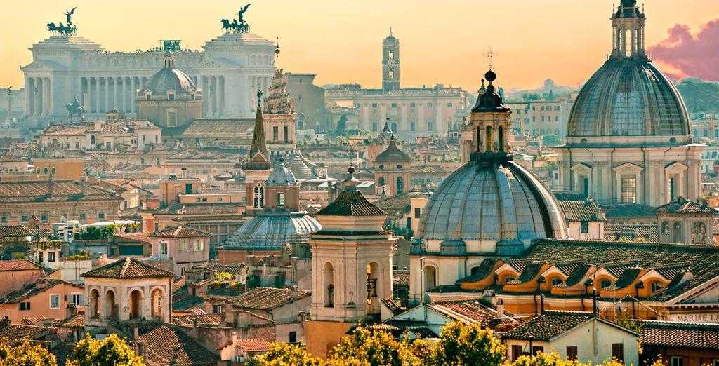 Escápese a Roma y disfrute de la capital italiana por todo lo alto
