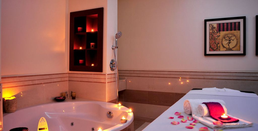 Concédete una pausa en el spa