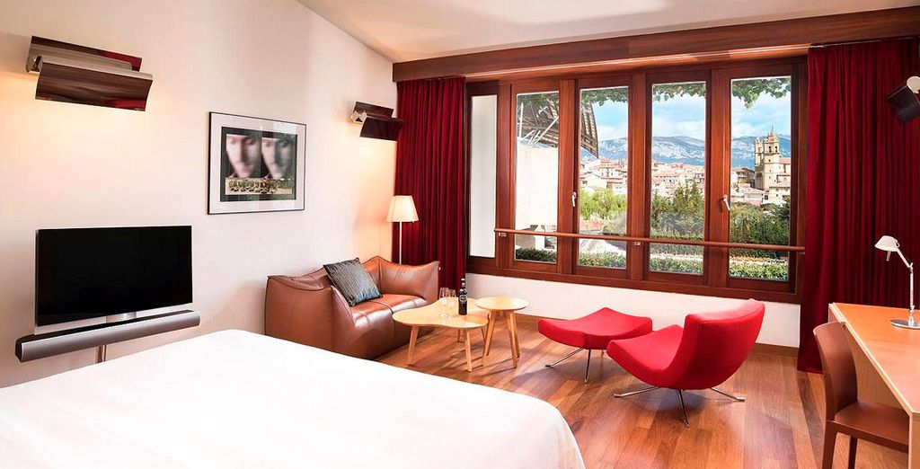 Donde te espera una fantástica habitación Premium, situada en el ala Spa