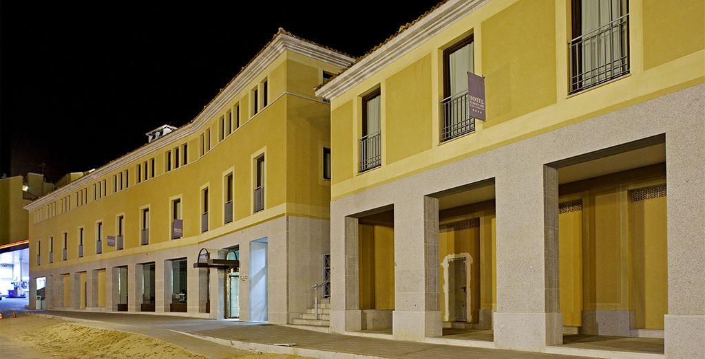El Hotel Eurostars Plaza Acueducto respira historia y cultura por todos sus poros