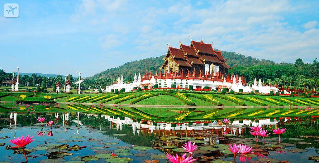 Empiece su circuito en Chiang Mai