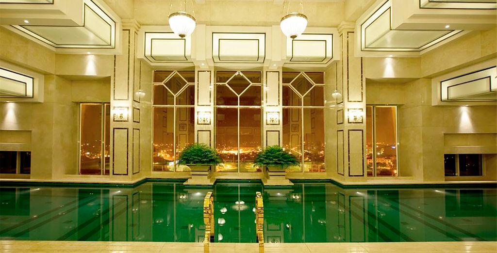 Podrás hospedarte en el Hotel Eldora 4*