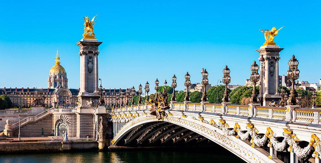 Cruza el río Sena