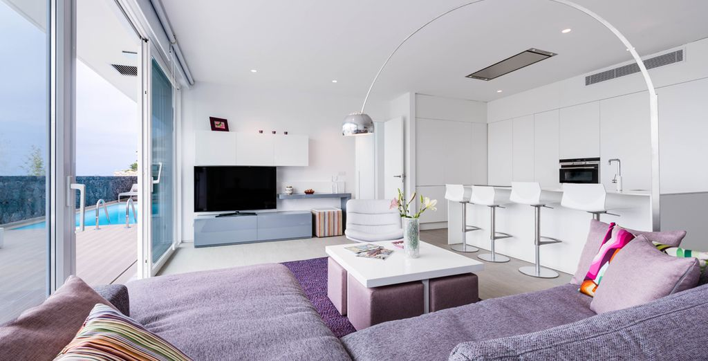 Acomódese en espacios diseñados para ser disfrutados