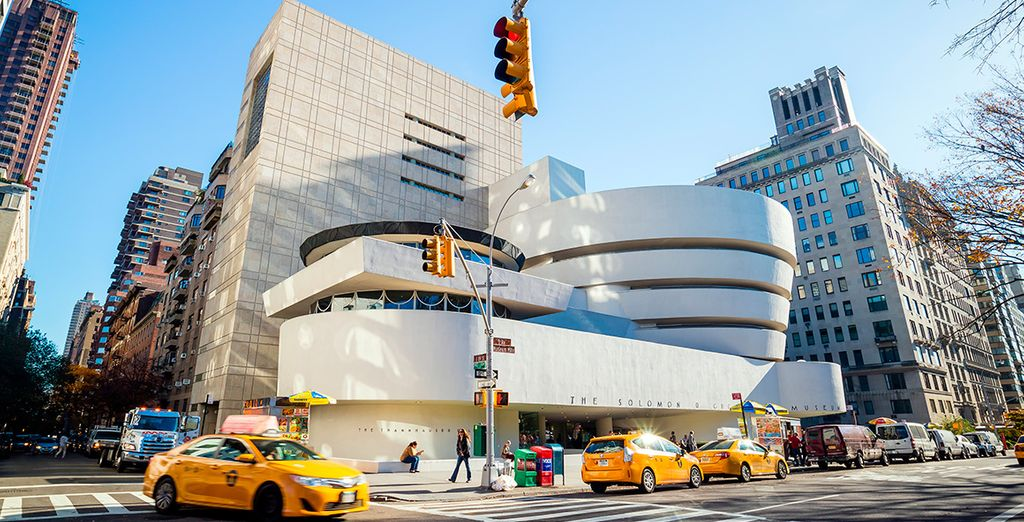Aprovecha para visitar el museo Guggenheim