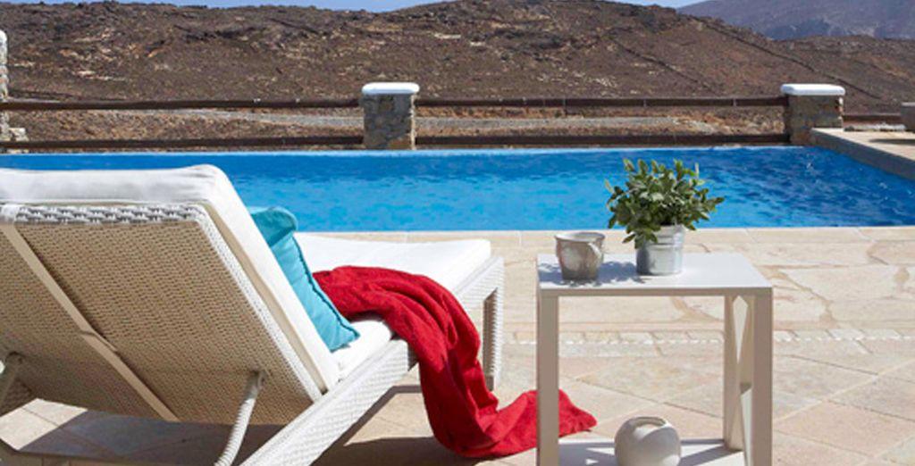 Disfrute de su villa con piscina privada