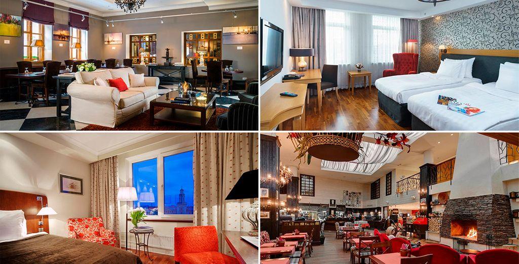 Descansa en tus hoteles Sokos 4* de Sant Petersburgo