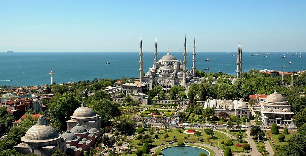 Descubra la mágica Estambul