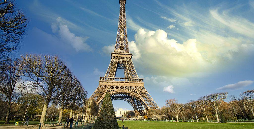 La Torre Eiffel le impresionará