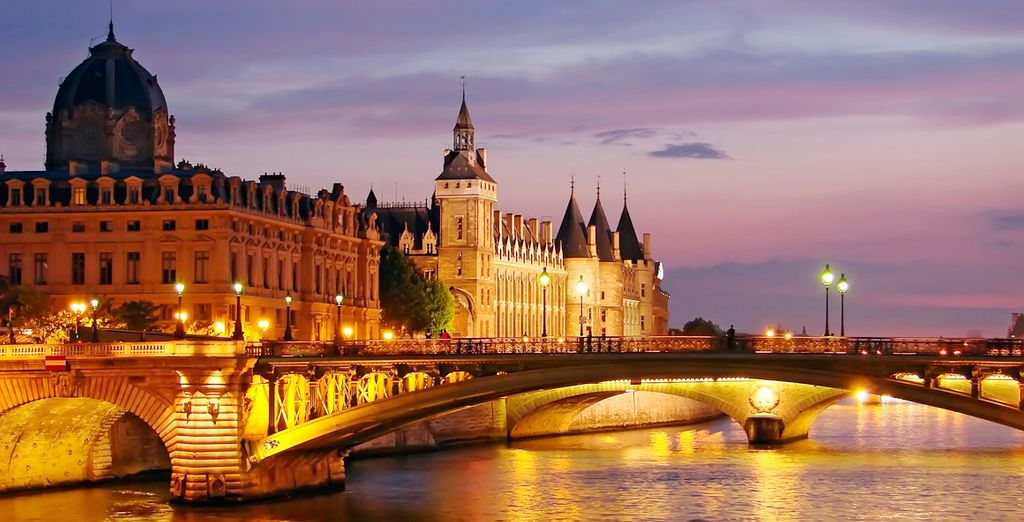 Disfrute de su estancia en París