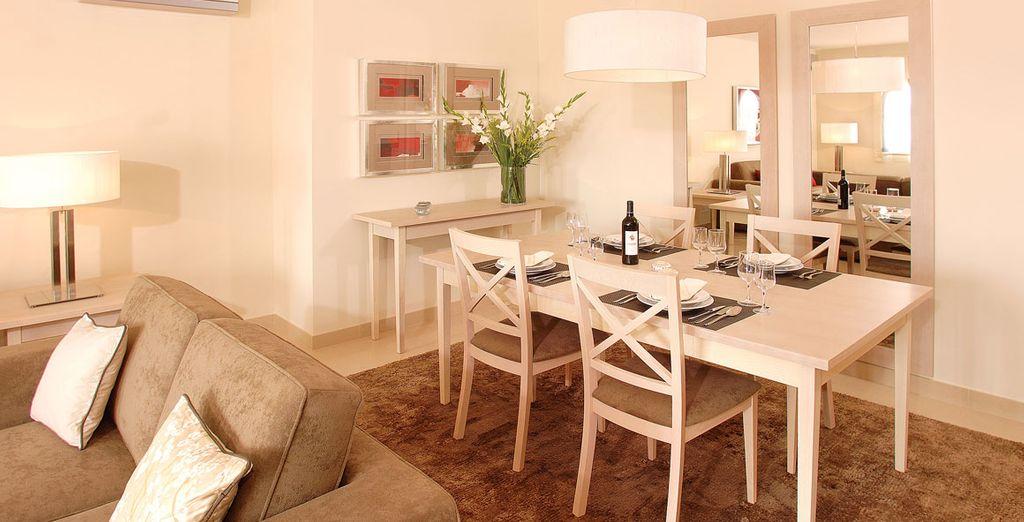 Tu apartamento cuenta con todo tipo de comodidades