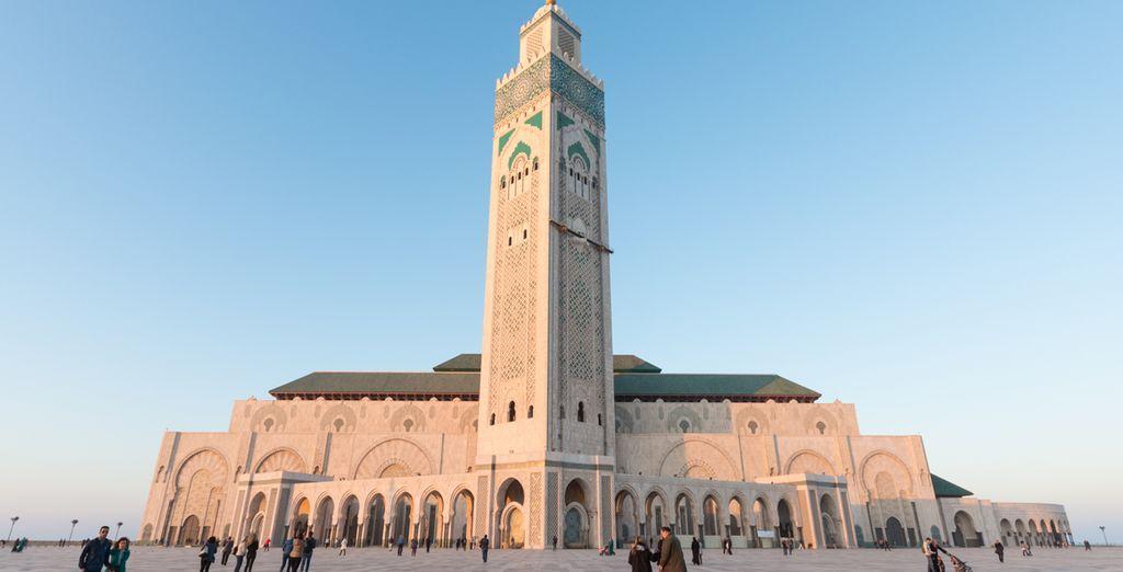 No puedes olvidarte de visitar la mezquita