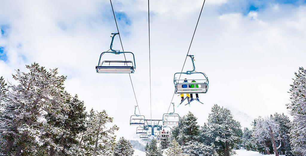 Tu hotel se encuentra junto a las pistas de esquí