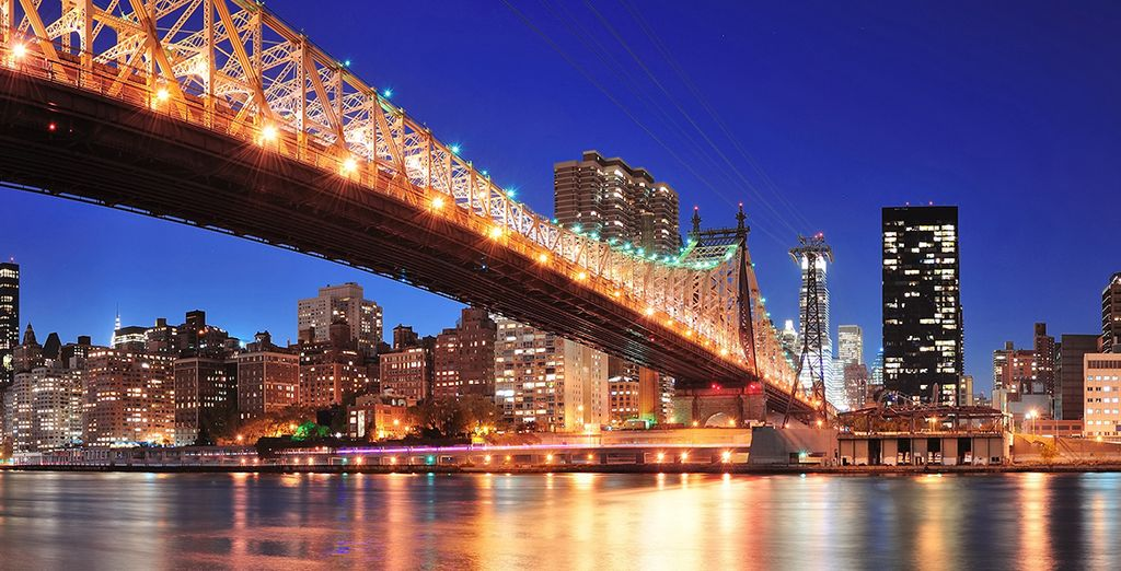 El famoso puente de Brooklyn