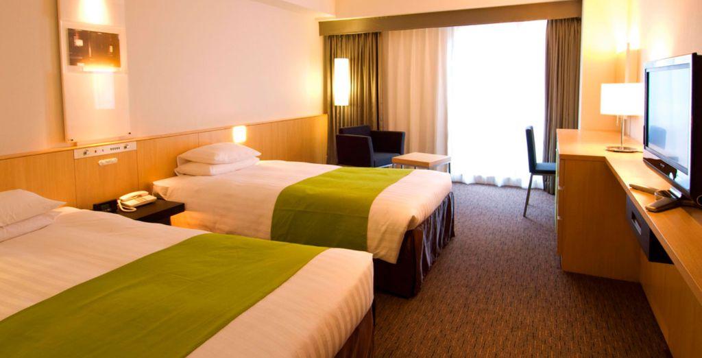 Donde te hemos reservado una fantástica habitación