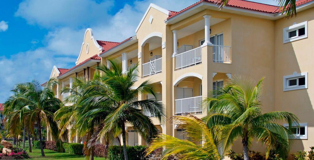 En esta segunda etapa del viaje te alojarás en el Hotel Meliá Las Antillas