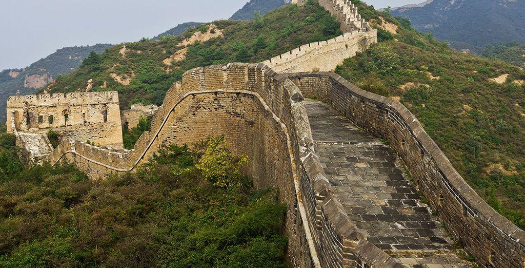 El cuarto día, puedes visitar opcionalmente la Gran Muralla