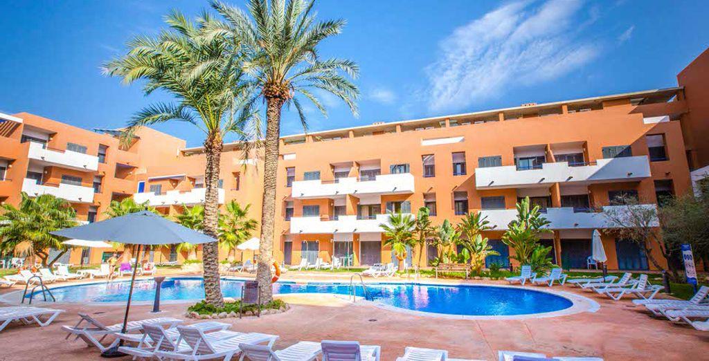 Bienvenido a los Apartamentos Parque Tropical